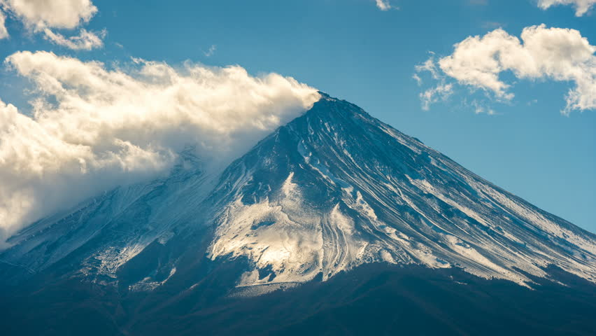 Timelapse of Fuji mountain, Japan. | Shutterstock HD Video #33218995