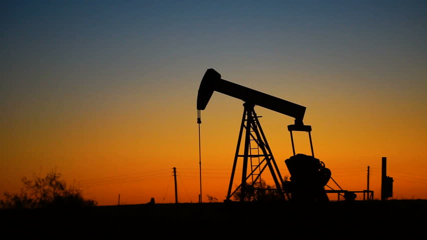 Oil Rig Pump-jack Working Natural Stock Footage Video (100% Royalty-free)  33231424   Shutterstock