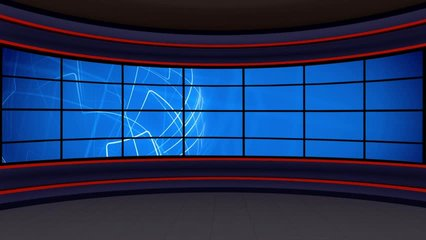 Light Blue colored rotating globe in background window for News best TV Program seamless loopable HD Video