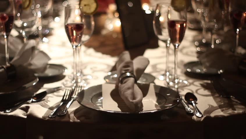 Banquet dinner