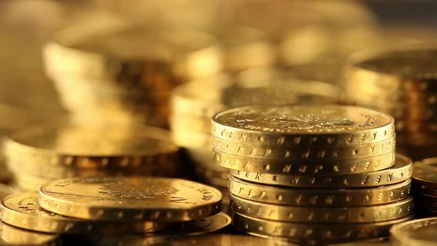 Money, coins background  | Shutterstock HD Video #3330473