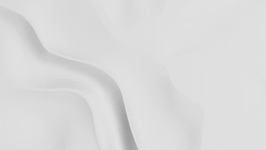White background with big surface waves - seamless looping