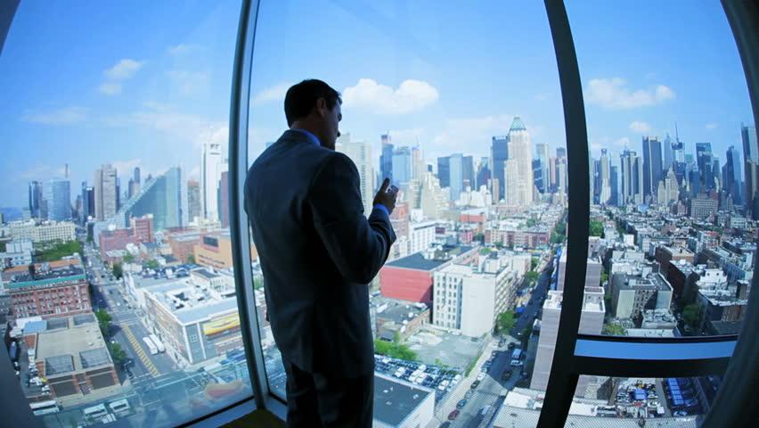 Caucasian Smart Businessman Has Successful Stock Footage Video 100 Royalty Free 3336875 Shutterstock