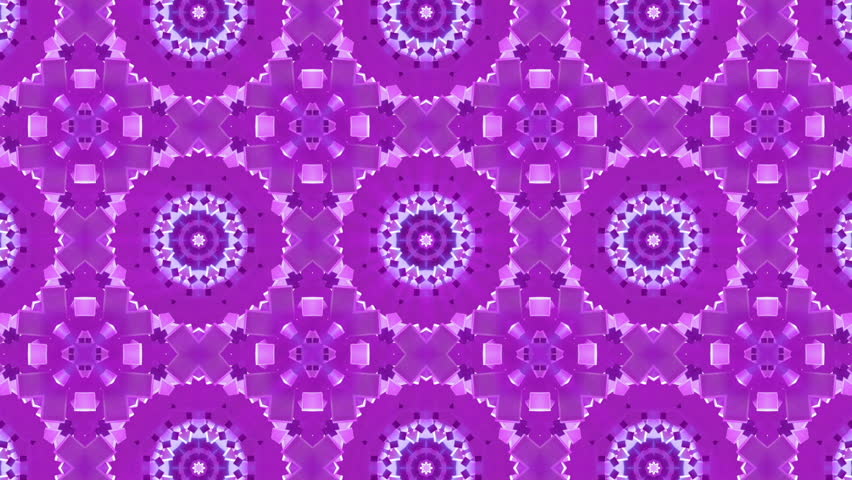 Purple abstract background. kaleidoscope effect. computer graphics  | Shutterstock HD Video #33412000