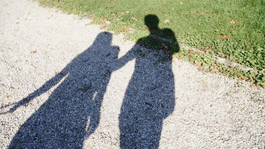 Couple Shadow Walking Together in Stockvideoklipp (helt royaltyfria)  33416317 | Shutterstock