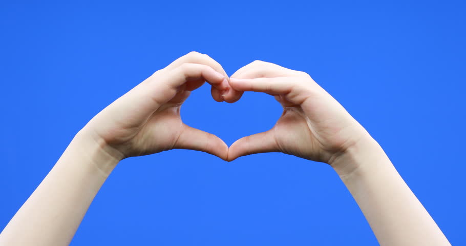 логотипом картинки сердца руками и пальцами сразу перестаешь