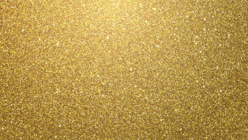 Golden glimmered seamless loop abstract motion background