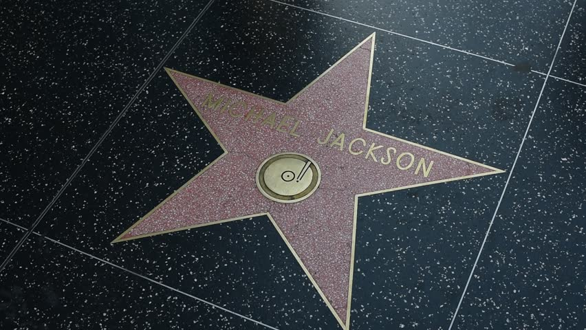 HOLLYWOOD, CA - DECEMBER 01: Michael Jackson star on the Hollywood Walk of Fame in Hollywood, California on Dec. 1, 2017.