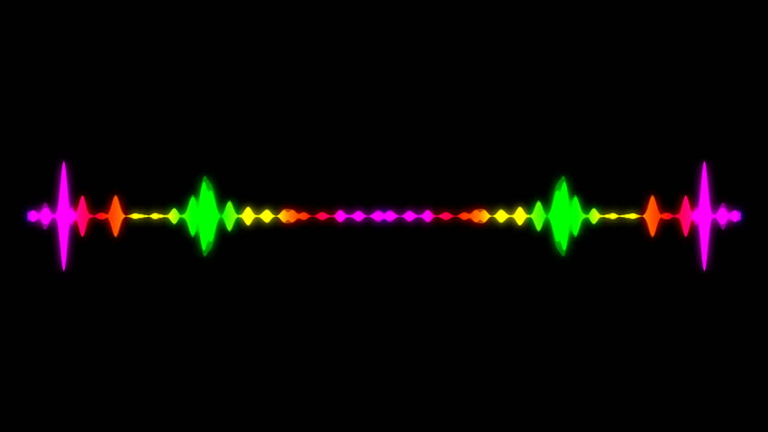 Abstract audio visualizer equalizer. Digital illustration backdrop. Seamless loop | Shutterstock HD Video #33505831