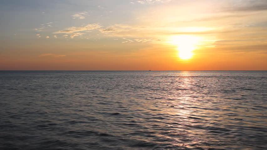 Tropical beach at beautiful sunset. Nature background    Shutterstock HD Video #33620317