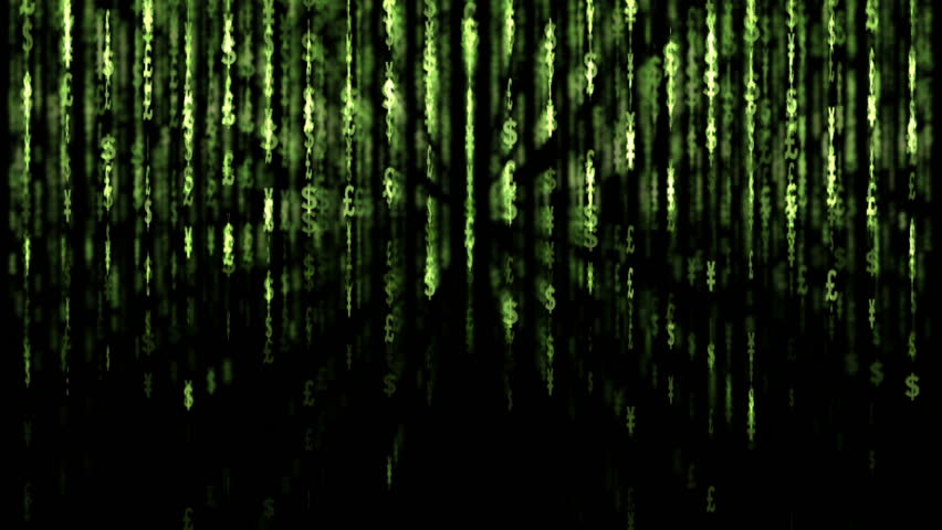 Matrix. Dollar background. 2009/02/17 | Shutterstock HD Video #336313