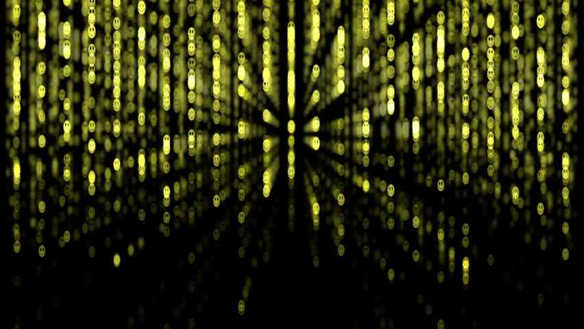 Matrix. Smiley background. 2009/02/17 | Shutterstock HD Video #336319