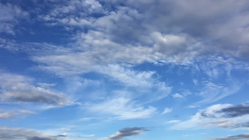 Time lapse of cleared blue sky with cloud in the winter season is a beautiful nature outdoor landscape background in the morning scene like a heaven | Shutterstock HD Video #33687322