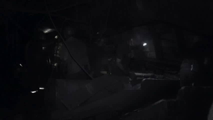 Work of miners in a coal mine | Shutterstock HD Video #33705667