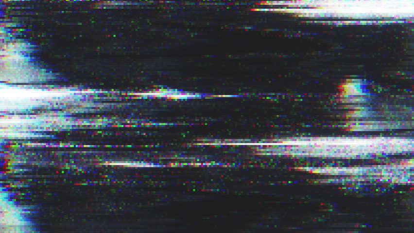 Unique Design Abstract Digital Animation Pixel Noise Glitch Error Video Damage