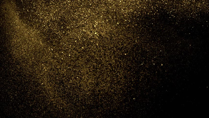 Beautiful animation of multi-colored flying flickering particles scattered on a black background   Shutterstock HD Video #33740881