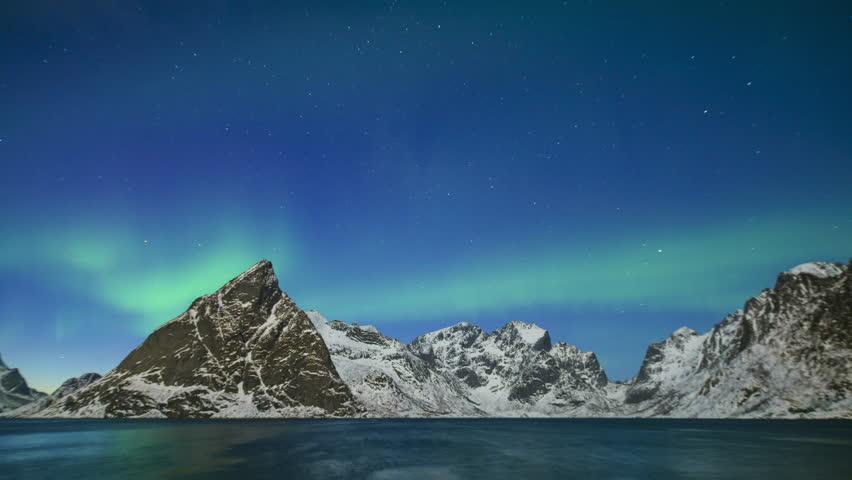 Aurora Time lapse | Shutterstock HD Video #33748261