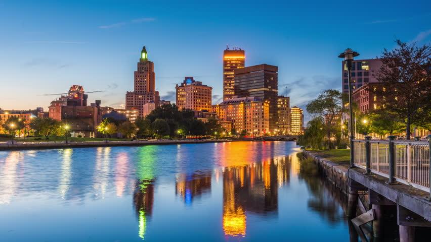 Providence, Rhode Island, Usa Skyline Stock Footage Video (100%25  Royalty-free) 33851563 | Shutterstock