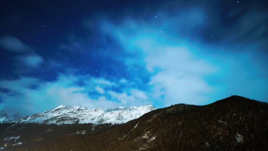Night Timelapse HD | Shutterstock HD Video #33922681