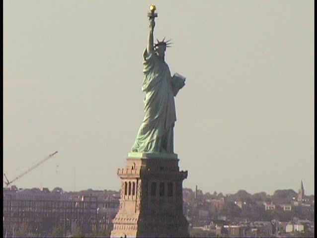 Statue of Liberty, New York, USA | Shutterstock HD Video #3395045