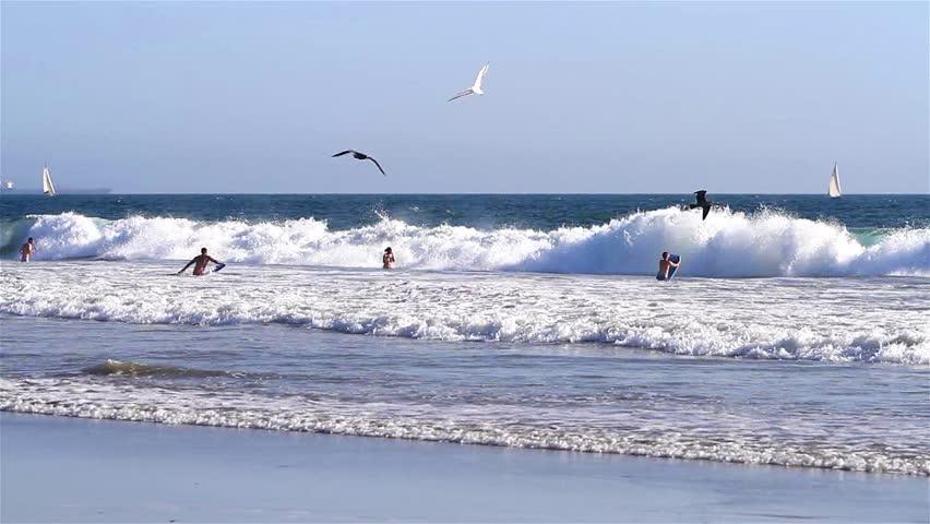 Venice Beach Usa Sept Stock Footage