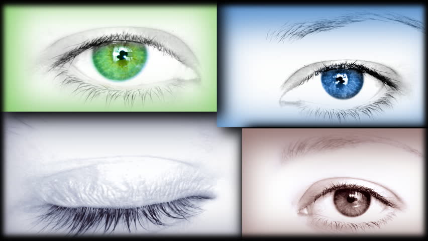 Eyes collage, HD