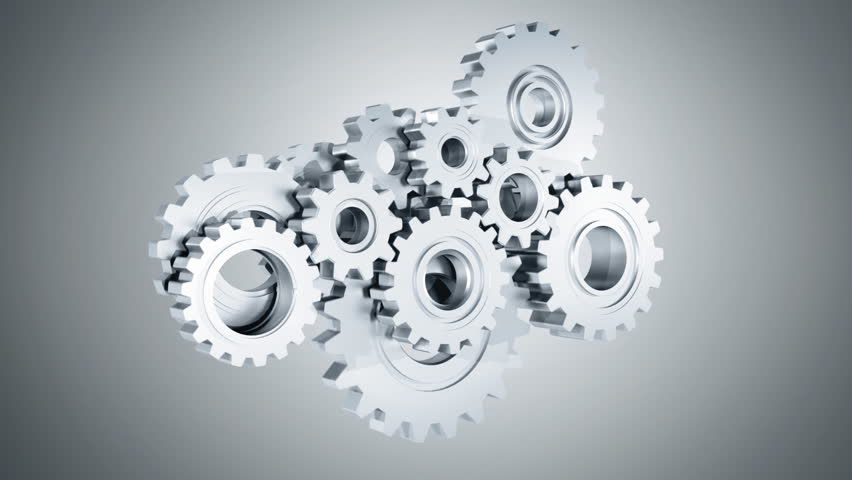 Connecting Gears   Shutterstock HD Video #3419291