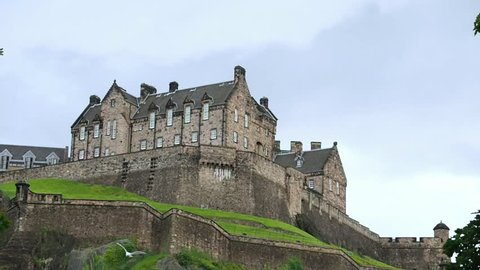 August 2017: The Castle is a historic fortress which dominates the skyline of the city. At least the Iron Age. August 2017 in Edinburgh castle