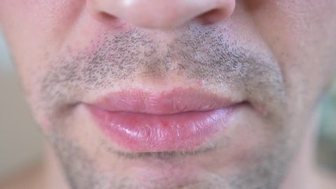 Does lips his it a mean licks what man when Why Some