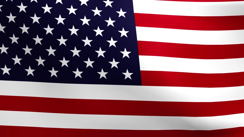 Seamless patriotic loop features the flag of the United States of America waving and viewed close. Great for Independence Day, Veterans Day, Memorial Day and more! | Shutterstock HD Video #3440102