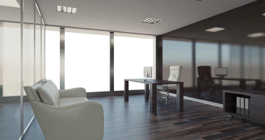 Modern office Cabinet. Meeting room. #34530598