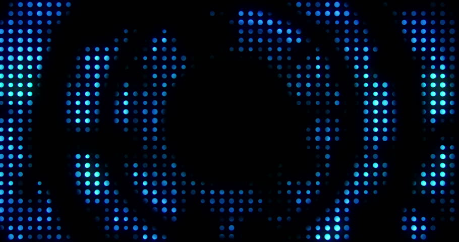 Vintage blue metallic loop circle with light reflex and blue rays effect on black background, concept of luxury live music disco pop concert entertainment event   Shutterstock HD Video #34566460