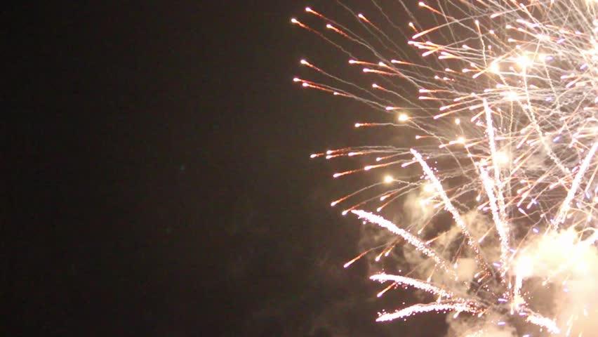 Fireworks Festival in Ube City, Yamaguchi Prefecture, Japan. | Shutterstock HD Video #34697188