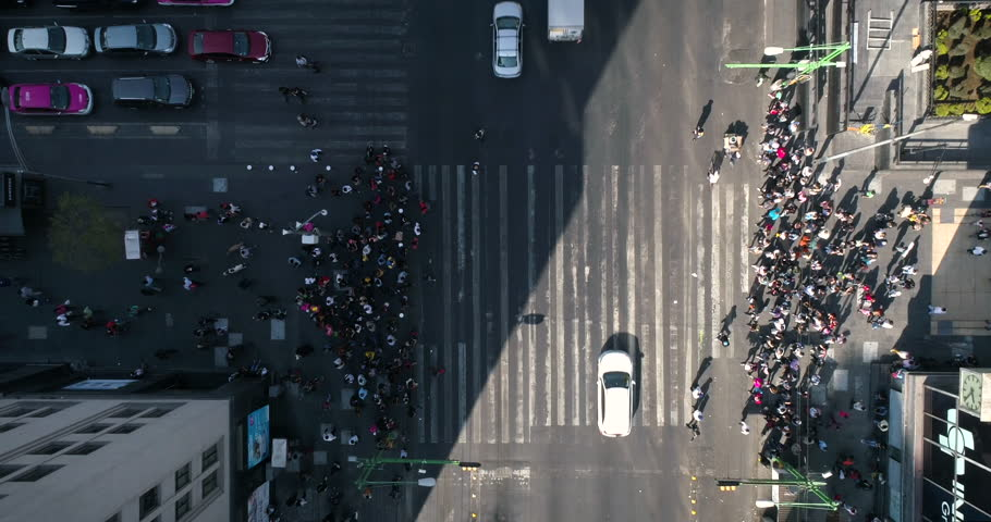 Cruce de personas, Mexico City, Timelapses | Shutterstock HD Video #34765012
