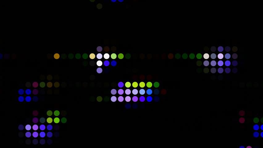 Future Tech: Futuristic technology digital light abstraction (Loop). #34771396