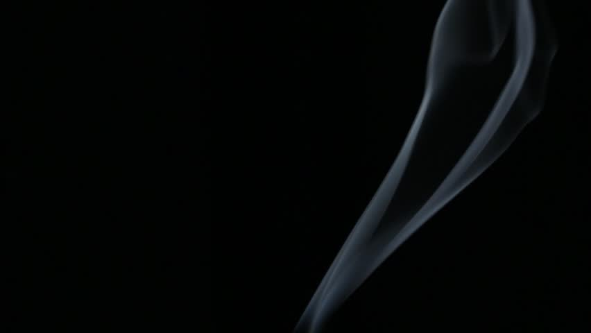 Smoke Patterns on Black with Low Key Lighting