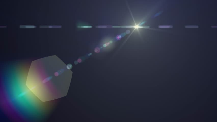 Horizontal moving lights optical lens flares shiny bokeh animation art background - new quality natural lighting lamp rays effect dynamic colorful bright video footage | Shutterstock HD Video #34784593