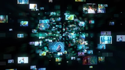 A lot of pictures in cyberspace.