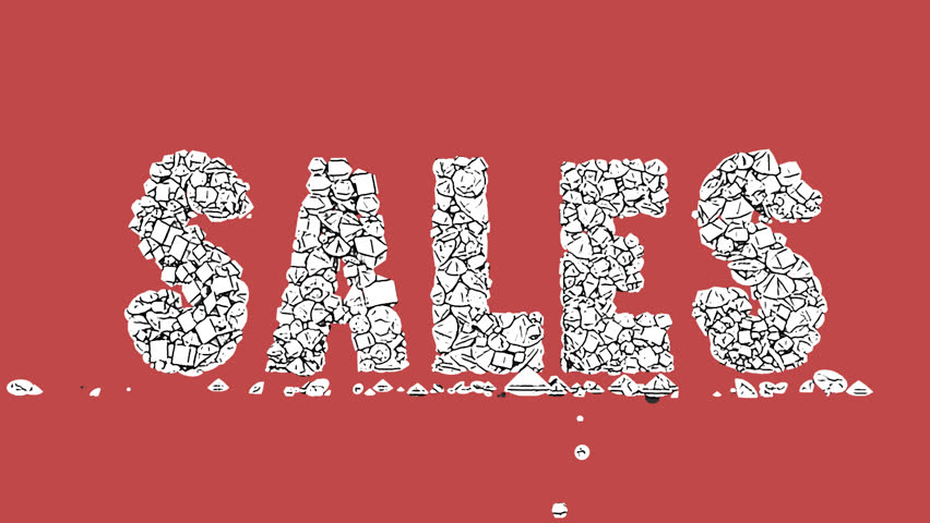 Sales stylish Typography animation HD footage clip | Shutterstock HD Video #34938937