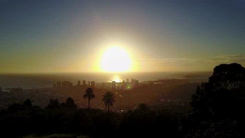 Tantalus Sunset Hawaii