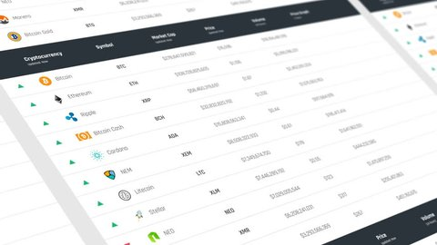 cryptocurrency live market data