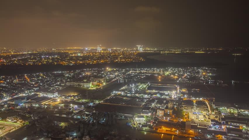 Jakarta at night timelapse   Shutterstock HD Video #35041084