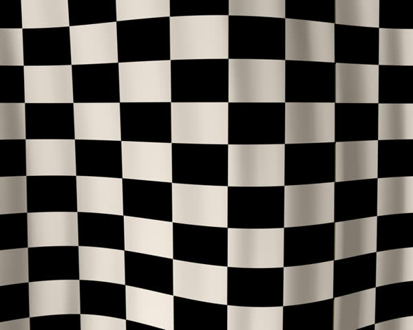 Looping checkered flag animation PAL