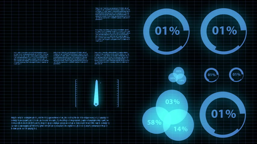 Motion infographic futuristic glow concept   Shutterstock HD Video #3524687