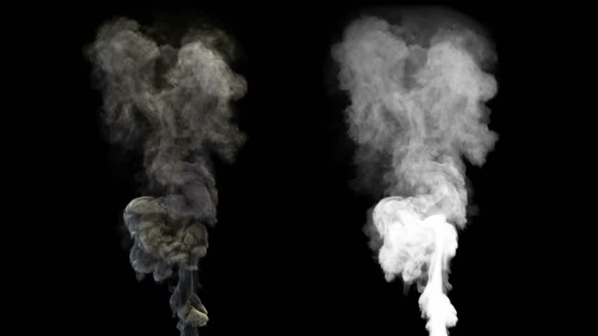 High-detailed smoke with alpha (high definition, 1080p, seamless loop) #3530909