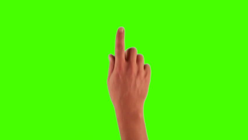 Set of hand gestures, showing the uses of computer touchscreen, tablet, trackpad or ipad. Full HD with green screen. modern technology, 1080p, 1920x1080   Shutterstock HD Video #3570494