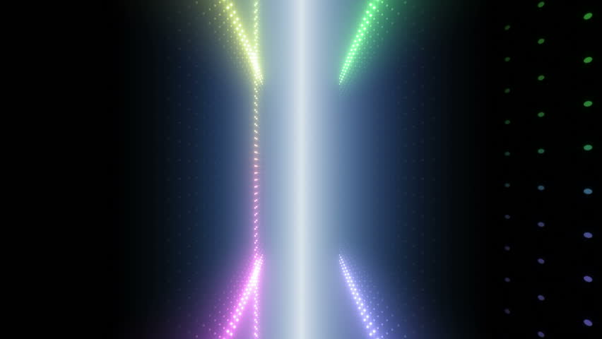 LED Light Space. | Shutterstock HD Video #3583646