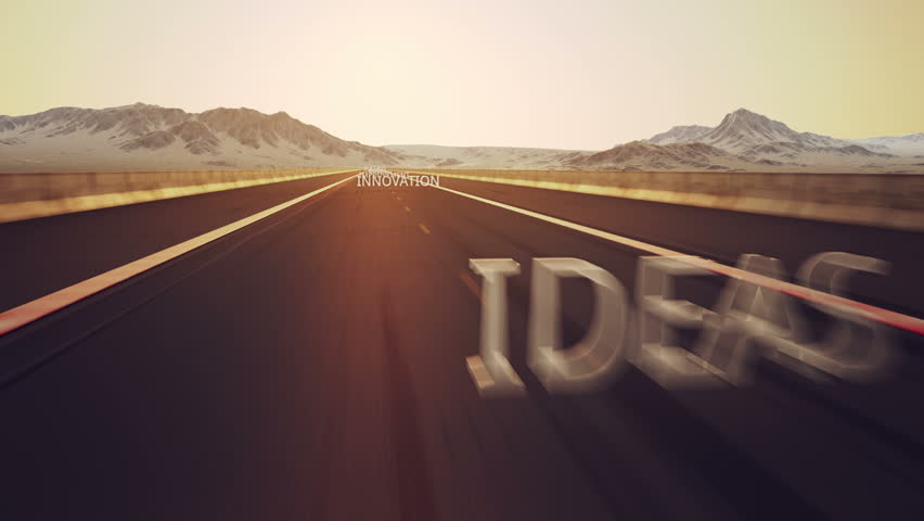 Road to success is conceptual video with important success words. | Shutterstock HD Video #3634685