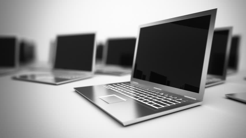 Loopable Animation of Laptops. Stock Footage Video (100% Royalty-free) 3635030 | Shutterstock