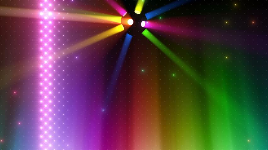 LED Disco Wall. | Shutterstock HD Video #3644264